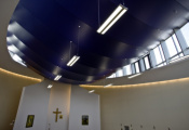 Chirch with 3D ceiling