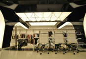 Shop with 3D ceilings