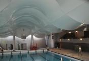 swimming pool 3D ceilings