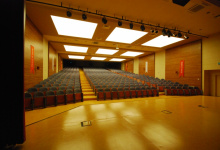 Schools with installed acoustic ceilings