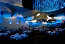 Banquet Hall installed stretch ceiling