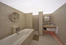 Translucent bathroom ceiling
