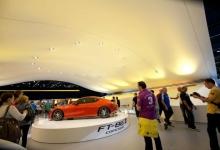 Car dealership suspended ceiling