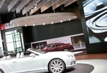 Car shop stretch ceiling