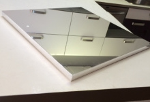 Example of ceiling mirror