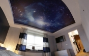 Printed sky stretch ceilings
