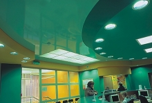 Room high gloss ceiling tiles