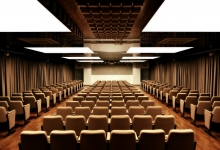 Acoustic ceiling conference hall
