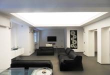 translucent ceiling living room