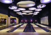 Bowling alley light panels