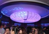 Club with modular light panel