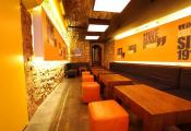 Night club with modular light  panels