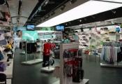 Retail shop modular light panel
