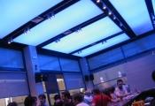 Restaurant modular light panel