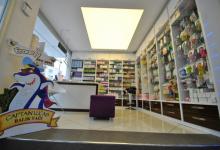 Translucent ceiling retail store