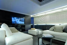 House with suspended ceiling