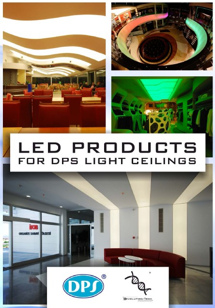 Led products for DPS light ceilings