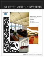 Stretch ceiling systems catalog